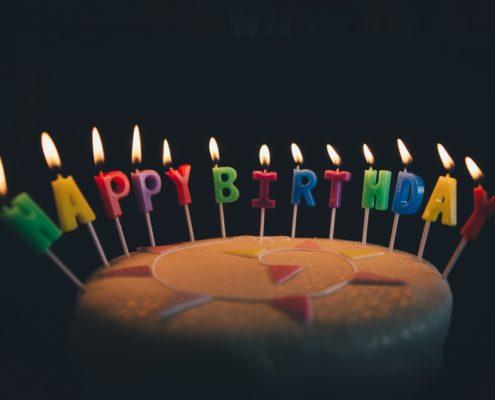 foto torta primo compleanno