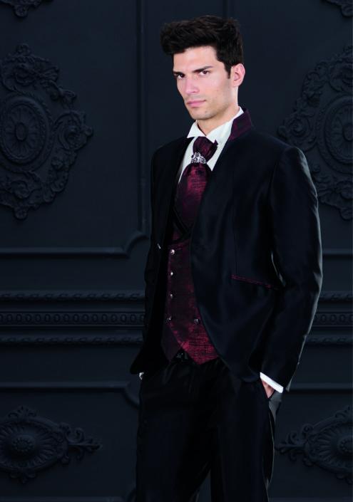 abito nero rocchini coreano sposo collezione 2020