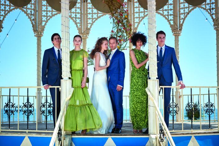 abito sposo sposa Carlo Pignatelli shooting uomo